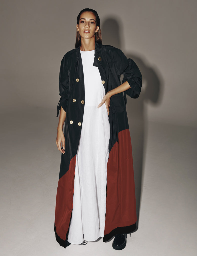 Trench Maxi Coat- 50% OFF