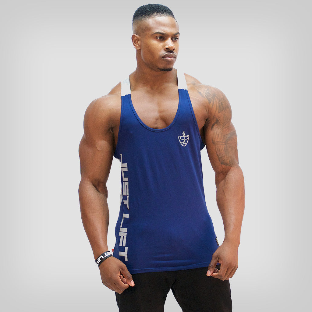 SP Aesthetics 'Just Lift' Two-Tone Stringer - Blue / Grey