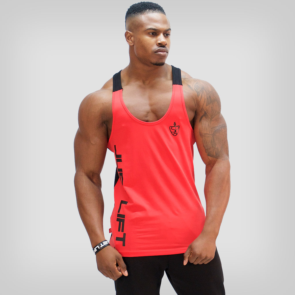 SP Aesthetics 'Just Lift' Two-Tone Stringer - Red/Black