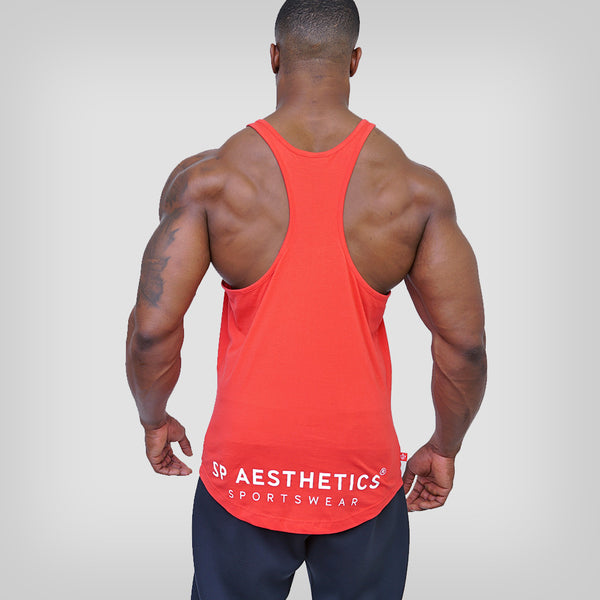SP Aesthetics - Just Lift 'Essential' Stringer – Red / White