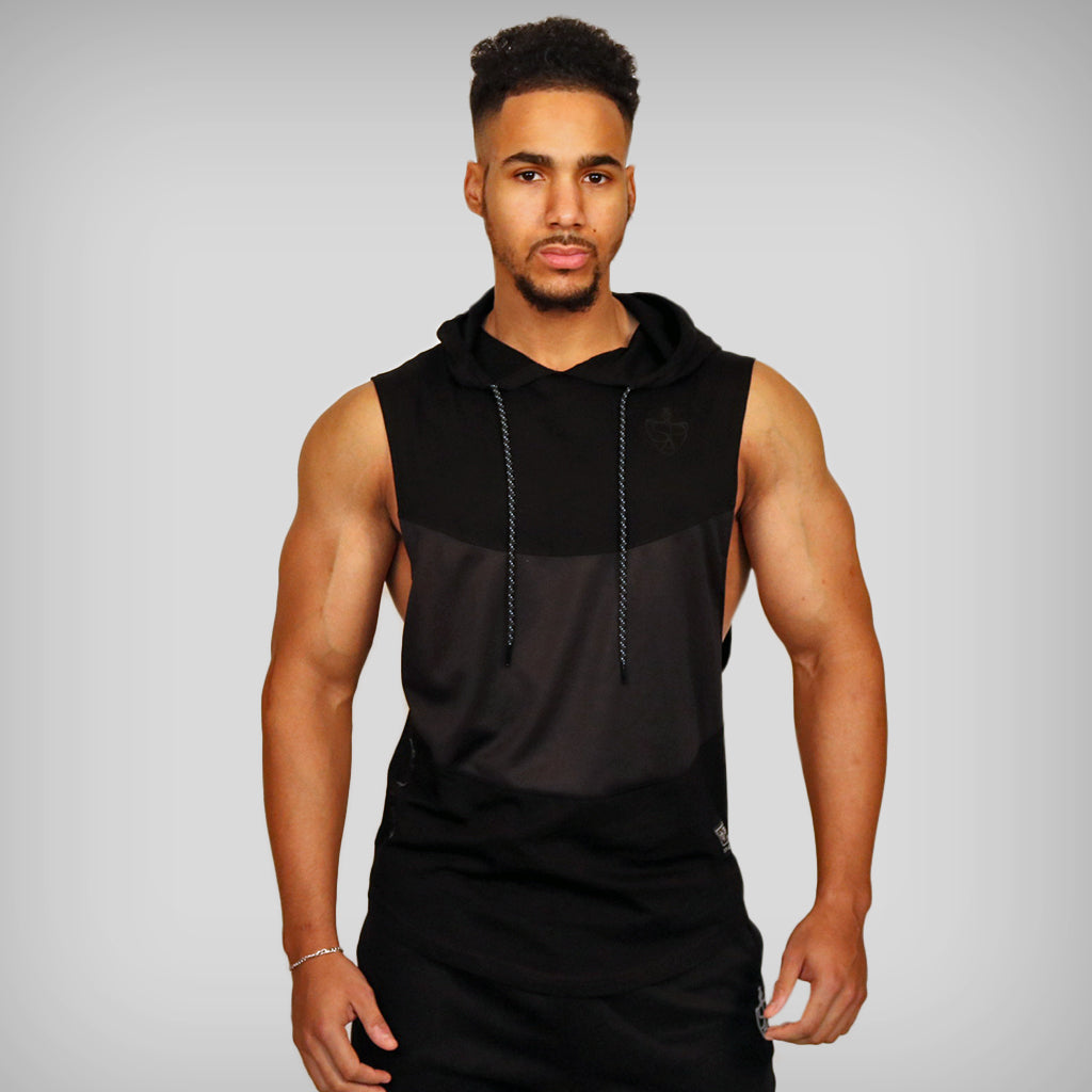 *Limited Edition* JUST LIFT Blackout Sleeveless Hoodie