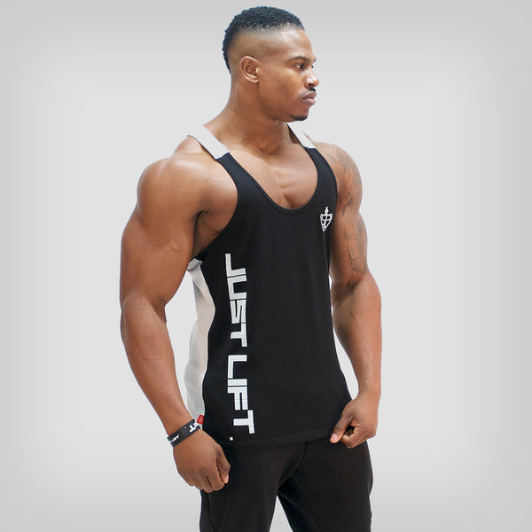 SP Aesthetics 'Just Lift' Two-Tone Stringer - Black/Pale Grey