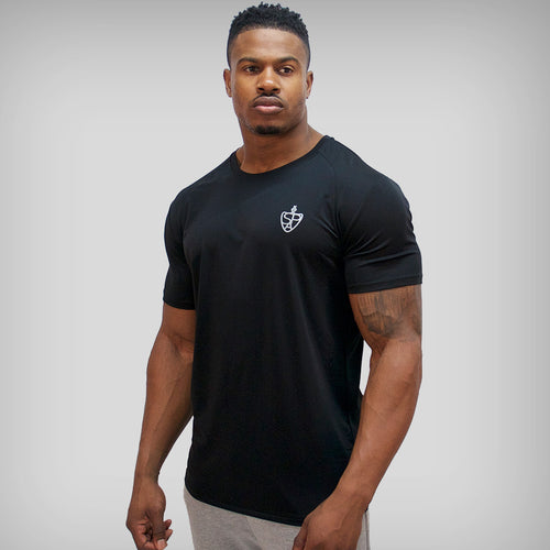 SP Aesthetics 'Performance' Training T-Shirt - Black