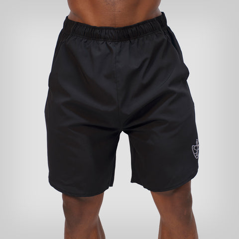 SP Aesthetics Tapered Zip Bottoms - Black / Light Grey