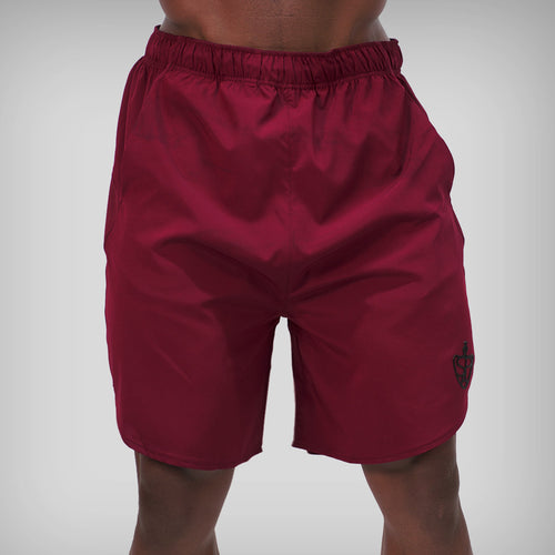 SP Aesthetics 'Performance' Training Shorts - Maroon