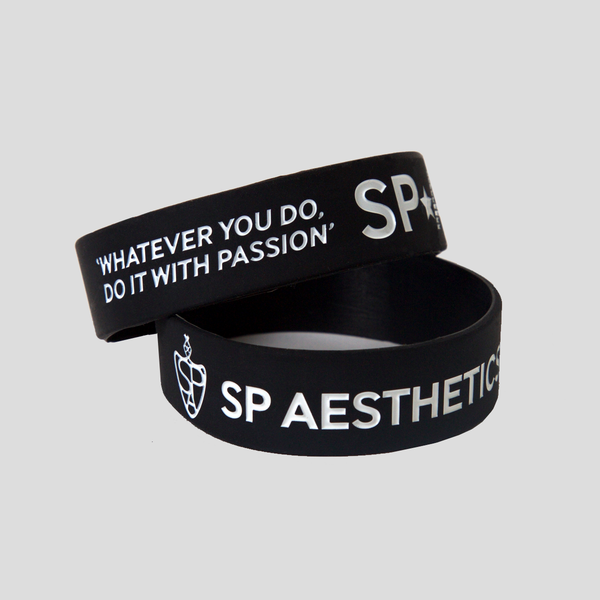 Motivational Wristband - Black/White