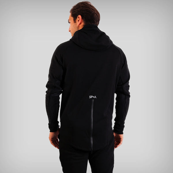 SP Aesthetics Men's Fusion Zip Hoodie - Black
