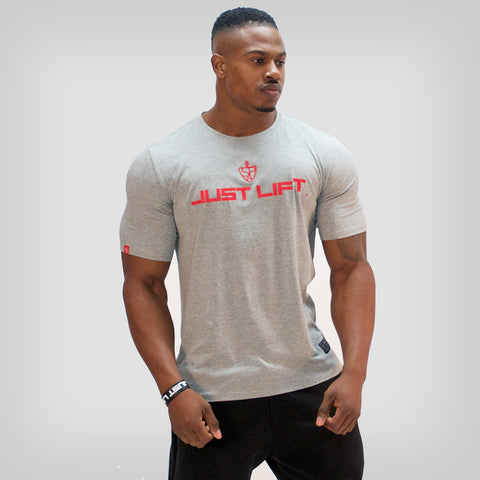*Limited Edition* SP Aesthetics 'JUST LIFT' HyperFit T-Shirt - Blackout