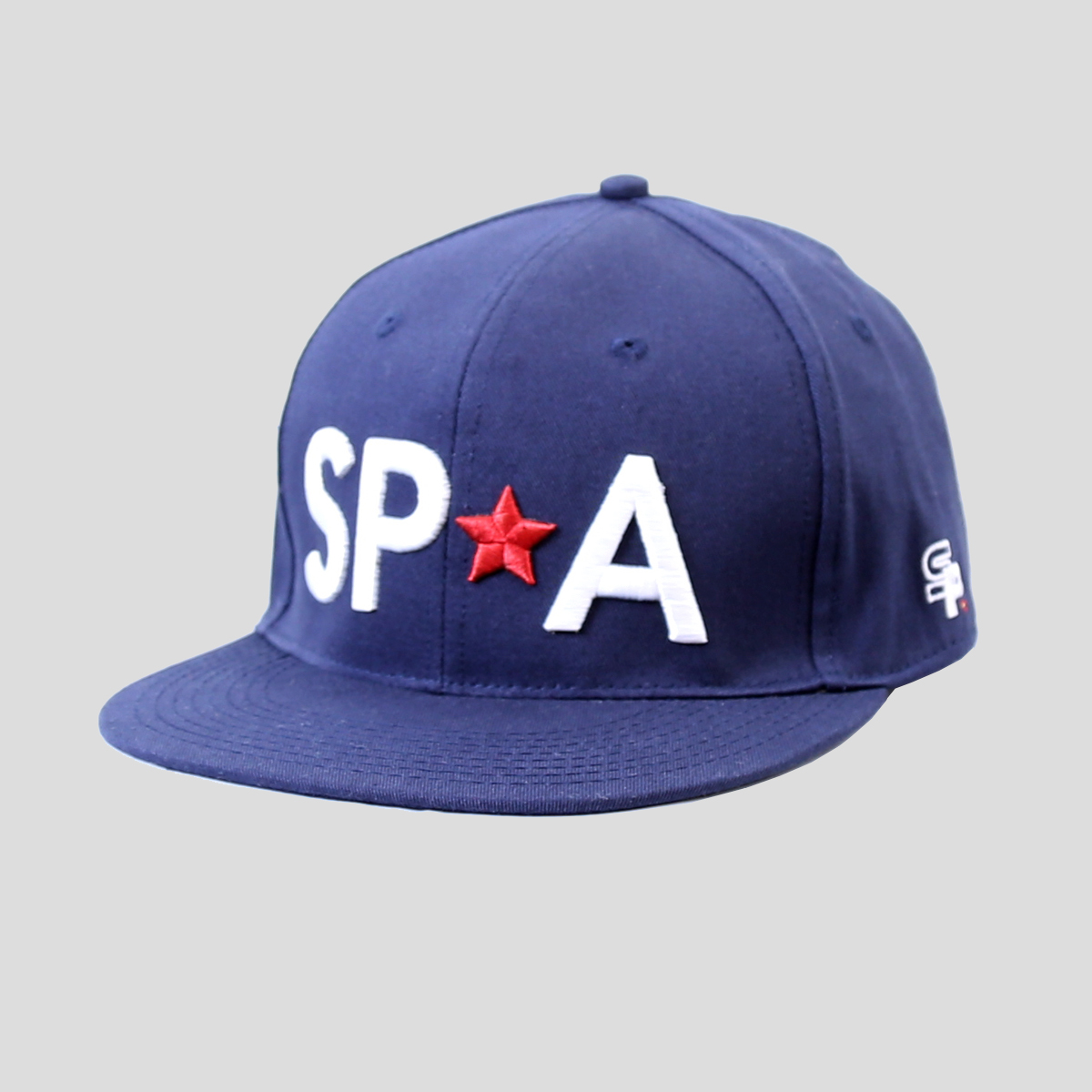 SP Aesthetics 'Snapback' Hat – Blue/White/Red