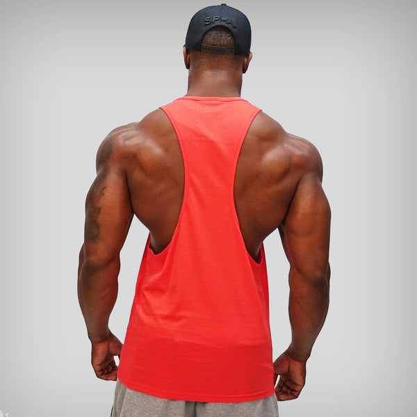 SP Aesthetics 'Classic' Racerback Vest - Red / White