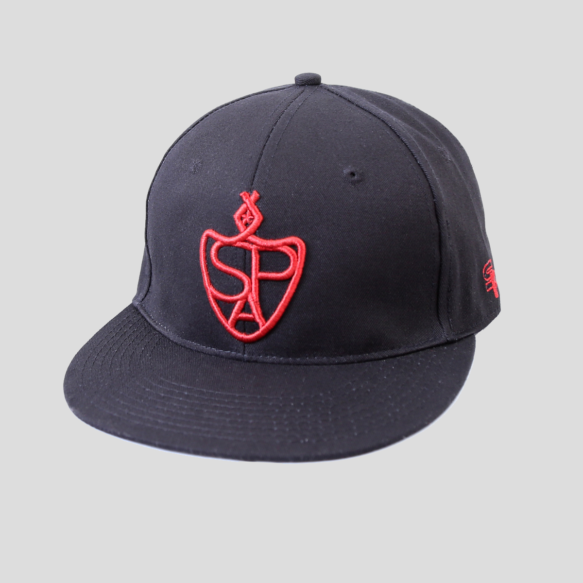 SP Aesthetics 'Emblem Lifestyle' Snapback Hat - Black/Red