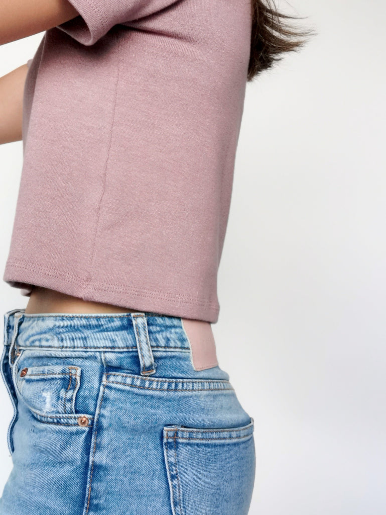 Modal Cropped Box Tees