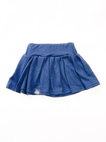 High-Waisted Modal Skirt