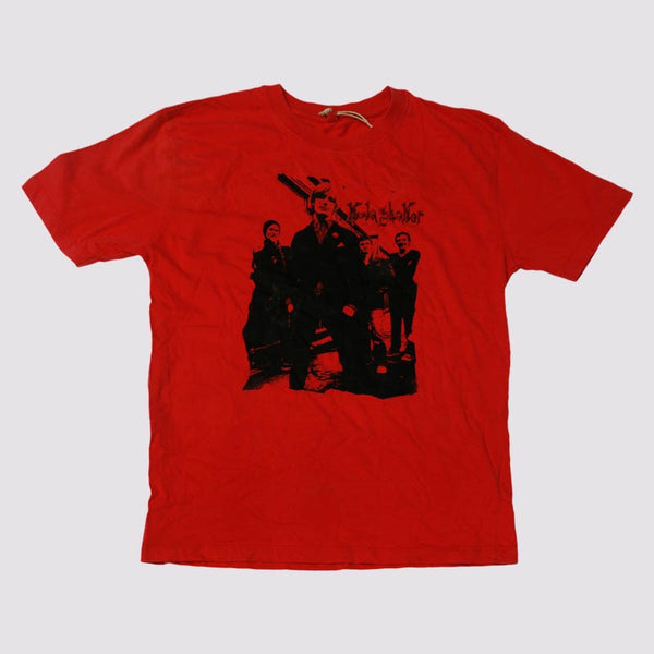 Band Photo Red T-shirt