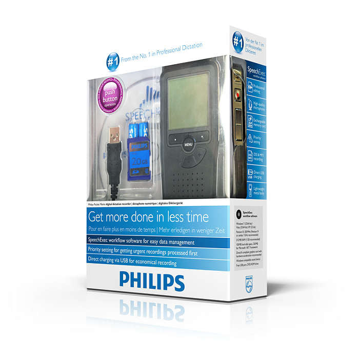 Philips Digital Pocket Memo 9375