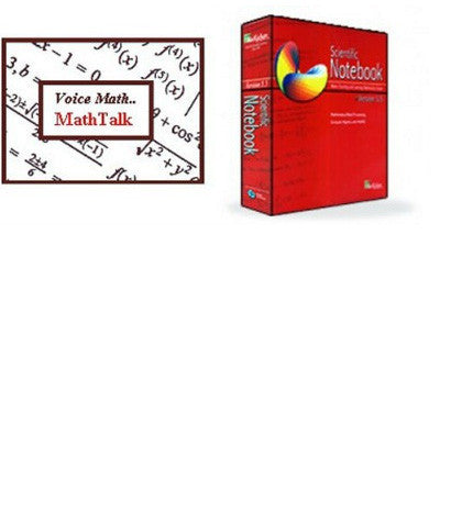 MathTalk/Scientific Notebook Bundle