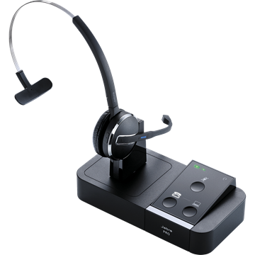Jabra Pro 9450 Mono Flex Headset with Phone/PC Switch