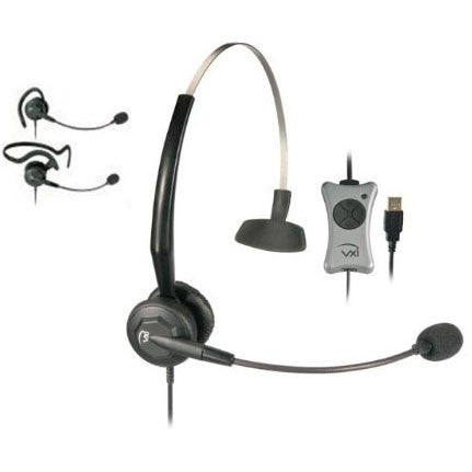 VXi TalkPro UC3 Convertible Monaural USB Headset