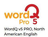WordQ 5 Pro English for Windows and Mac. Download only.