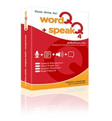 WordQ+SpeakQ V4 Bundle - English - Windows ONLY