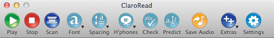 ClaroRead Standard for Mac - USB or Download