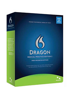 Dragon Medical Practice Edition 2 with Philips DPM8000 Digital Recorder