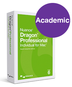 Dragon Professional Individual for Mac v6 - Student/Teacher