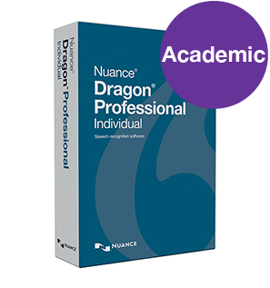 Dragon Professional v15 Individual - Academic. Download only.