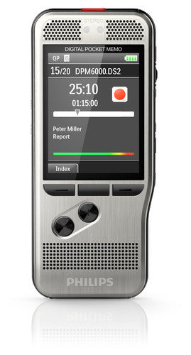 Philips Digital Pocket Memo 6000 (Push Button)