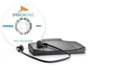 Philips SpeechExec Pro Transcription Set with Speech Recognition Module (V8.7)