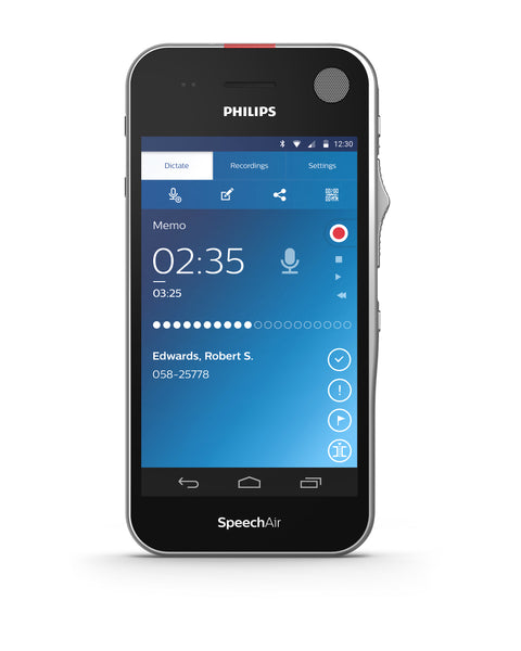 Philips SpeechAir Smart Voice Recorder 2nd Generation (Software not included)