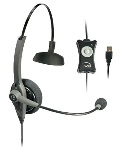 VXi TalkPro USB1 Monaural Headset