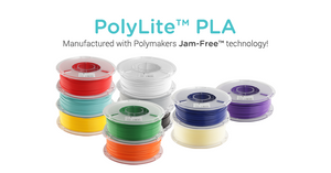 Polymaker PolyLite PLA Filament with Jam Free Technology