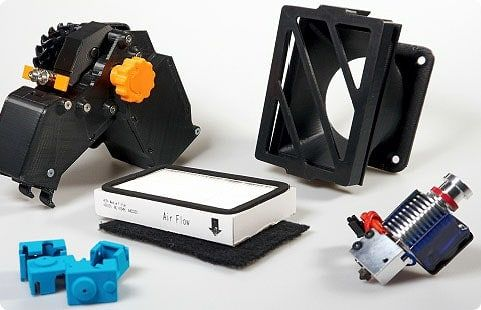 Spare parts and Accessories for 3D Printers