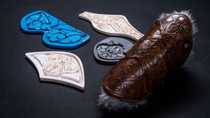 Detailed leather imprinting using a ZMorph Multitool 3D Printer