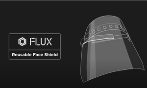 DIY Face Shield Using FLUX Beamo Laser Cutter