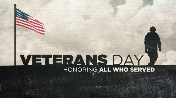 Happy Veteran's Day!!
