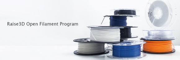 Announcement: Raise3D Open Filament Program