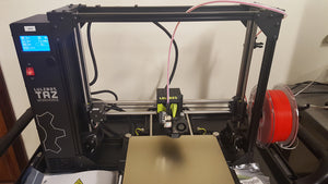 The LulzBot TAZ Workhorse is setup!