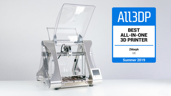 2019 ZMorph VX Review – Best All-in-One 3D Printer