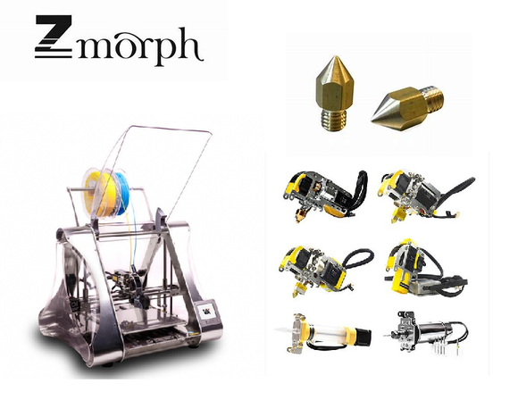 ZMorph 3D Printers, Spare Parts & Accessories