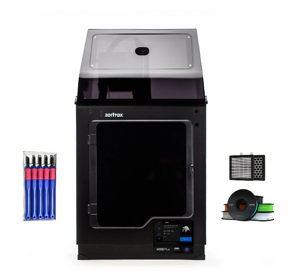 ZORTRAX M200 PLUS 3D PRINTER EDUCATION BUNDLE