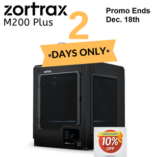 Two Day Holiday Promo!! Zortrax M200 Plus