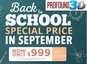 Back to School Special from CraftBot!