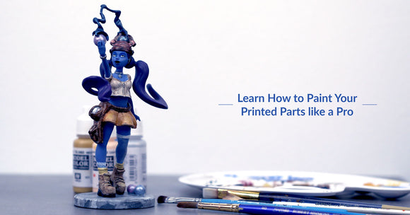 How to Paint Your 3D Prints
