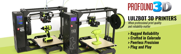 3D Printing Solutions From Zortrax, Raise3D, CraftBot and Afinia