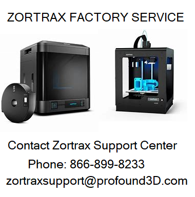 Zortrax Factory Service