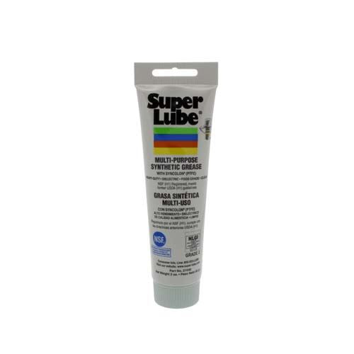 Super Lube Multi-Purpose Synthetic Grease With Syncolon (PTFE) - 3D Printer Lubricant - 3 oz Tube