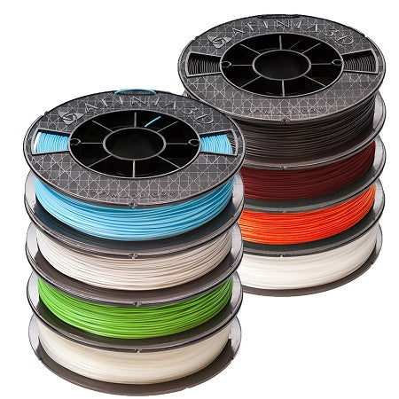 Afinia 1.75mm Premium PLA Filament - 8 Pack