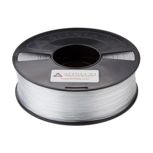 Afinia Value-Line Transparent 1.75mm ABS Filament for 3D Printers - 1kg Spool